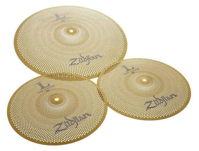 Набор барабанных тарелок Zildjian L80 Low Volume 38 Box Set хай хэт и контроллер для электронной ударной установки zildjian gen16 buffed bronze 14 hi hat