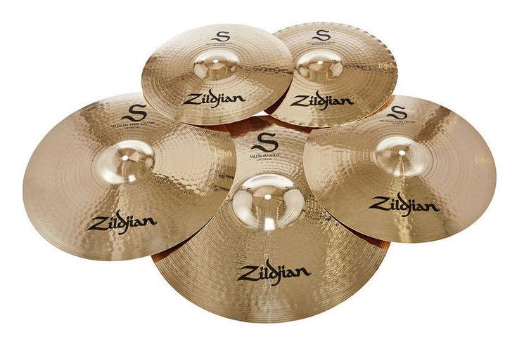 Набор барабанных тарелок Zildjian S Series Performer Cymbal Set хай хэт и контроллер для электронной ударной установки millenium mps 200 mono cymbal pad