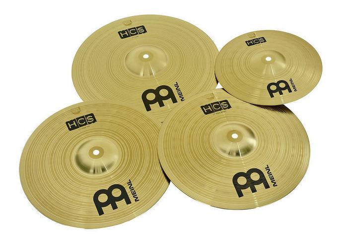 Набор барабанных тарелок Meinl HCS1314+10S Cymbal Set