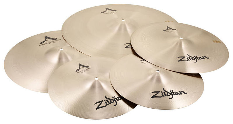 Набор барабанных тарелок Zildjian A-Series Box Set Sweet Ride хай хэт и контроллер для электронной ударной установки millenium hi hat controller mine v2 0