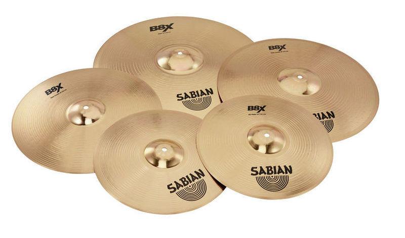 Набор барабанных тарелок Sabian B8X Performance Set Plus хай хэт и контроллер для электронной ударной установки yamaha hh 65 hi hat controller