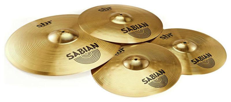все цены на Набор барабанных тарелок Sabian SBR Performance Cymbal Set онлайн