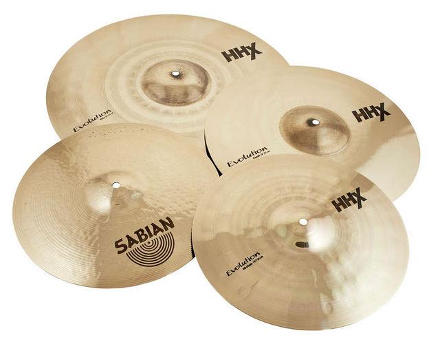 Набор барабанных тарелок Sabian HHX Evolution Performance Set social evolution