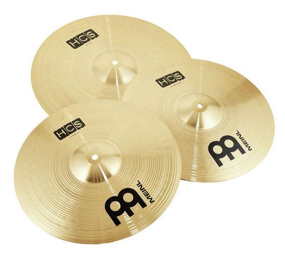 Набор барабанных тарелок Meinl HCS Cymbal Set Starter хай хэт и контроллер для электронной ударной установки millenium mps 200 mono cymbal pad