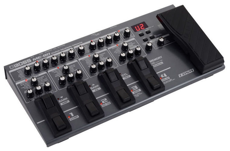 Гитарный процессор для электрогитары Boss ME-80 гитарный процессор для электрогитары nux pg 2