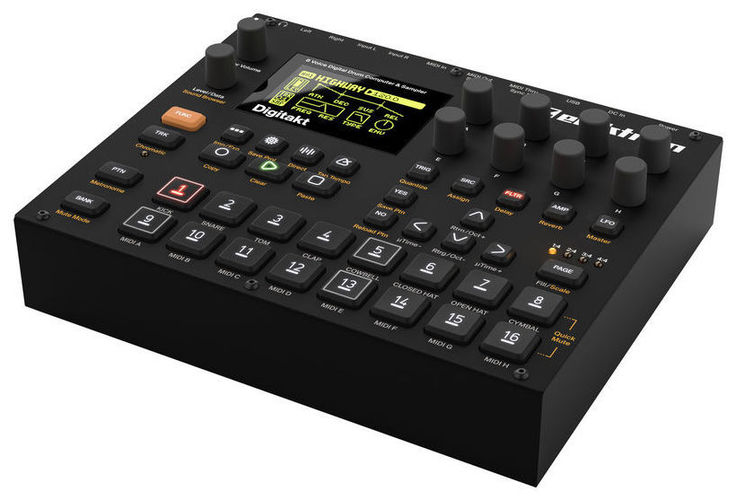 цена Драм-машина Elektron Digitakt