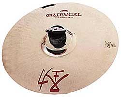 Тарелка сплэш Zildjian 11 Oriental Trash Splash хай хэт и контроллер для электронной ударной установки zildjian gen16 buffed bronze 14 hi hat