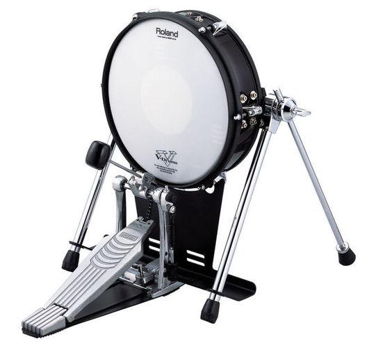 Басовый пэд Roland KD-120BK 12 V-Drum Kick электронные ударные установки roland kd 140