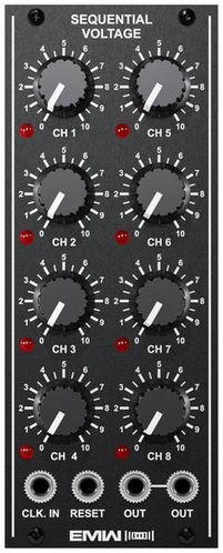Модульный синтезатор EMW Sequential Voltage коммутатор zyxel gs1900 10hp gs1900 10hp eu0101f