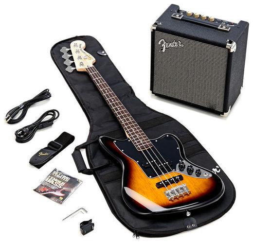 Набор с бас-гитарой Fender SQ Jaguar Special/Rumble Set rumble roses xx купить спб