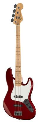 4-струнная бас-гитара Fender Standard Jazz Bass MN CAR 4 струнная бас гитара fender std precision bass mn lpb