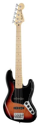 5-струнная бас-гитара Fender Deluxe Active Jazz Bass V SB fender precision bass deluxe 5
