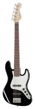 5-струнная бас-гитара Fender Squier Affinity Jazz V BK fender squier bullet stratocaster rw bk в украине