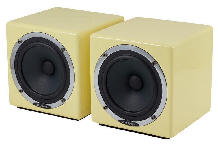 Активный студийный монитор Avantone Active MixCube Cream активный студийный монитор alesis m1 active mk3