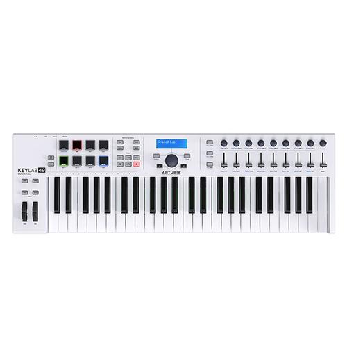 MIDI-клавиатура 49 клавиш Arturia KeyLab Essentials 49 midi клавиатура 32 клавиши arturia keystep