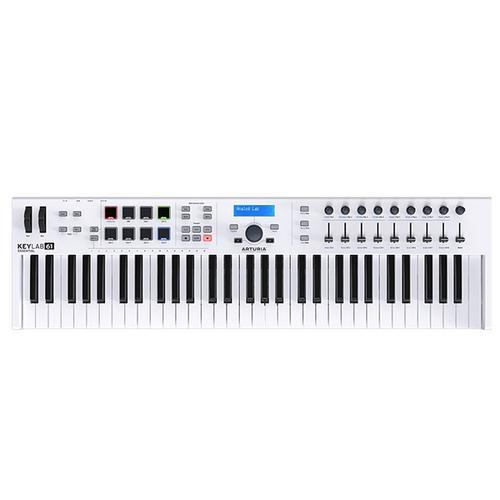 MIDI-клавиатура 61 клавиша Arturia KeyLab Essentials 61 midi клавиатура 32 клавиши arturia keystep