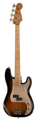4-струнная бас-гитара Fender Road Worn 50 P-Bass 2TS fender precision bass deluxe 5