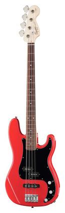 4-струнная бас-гитара Fender Squier Affinity P-Bass PJ Red fender precision bass deluxe 5