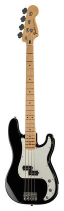 4-струнная бас-гитара Fender Std Precision Bass MN BK fender precision bass deluxe 5