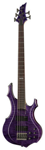 5-струнная бас-гитара ESP LTD F155DX Dark S.T. Purple 5 струнная бас гитара esp ltd f 5e ns