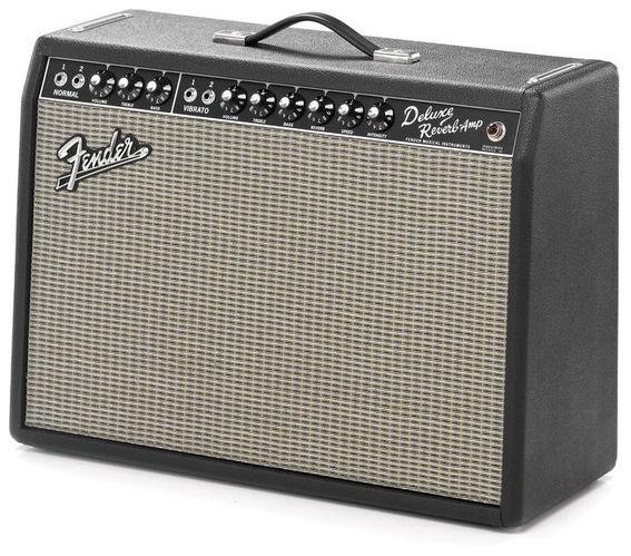 Комбо для гитары Fender 65 Deluxe Reverb комбо для гитары fender frontman 10g 10 watts