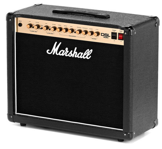 Комбо для гитары MARSHALL DSL40C комбо для гитары fender mustang gt 200