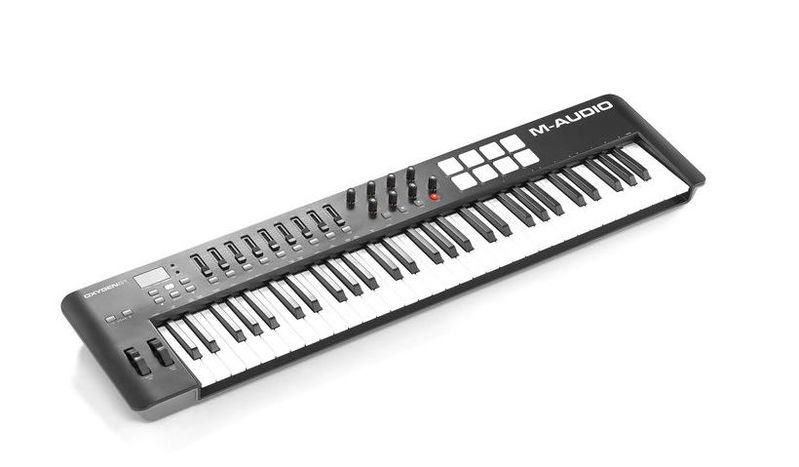 MIDI-клавиатура 61 клавиша M-Audio Oxygen 61 Mk4 midi клавиатура 61 клавиша m audio code 61 black