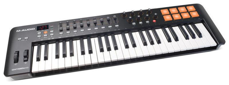 MIDI-клавиатура 49 клавиш M-Audio Oxygen 49 Mk4