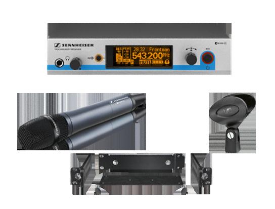 Готовый комплект радиосистемы Sennheiser EW 500-945 G3-A-X sennheiser xsw 12 a