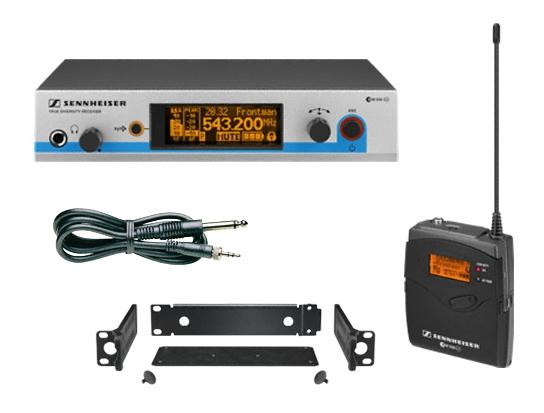 Радиосистема инструментальная Sennheiser EW 572 G3-B-X  радиосистема sennheiser ew 500 945 g3 a x