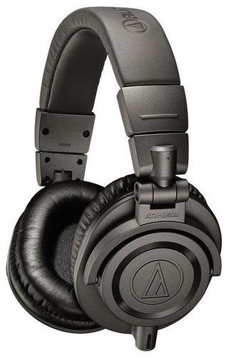 Наушники закрытого типа Audio-Technica ATH-M50X MG наушники audio technica ath ad700x