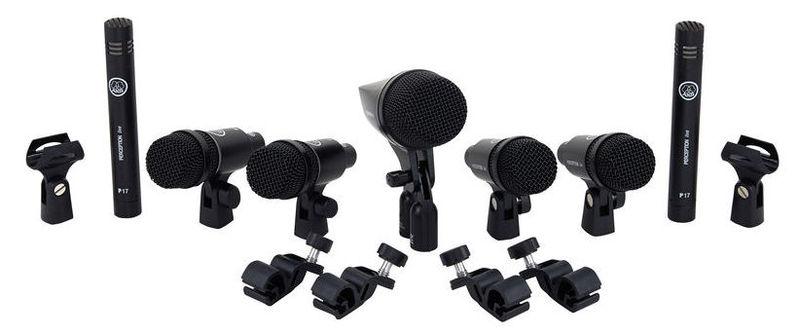 Микрофон для ударных инструментов AKG DRUM SET SESSION I микрофон для ударных инструментов audix dp7 drum microphone set
