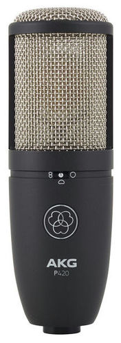 Микрофон с большой мембраной для студии AKG P420 микрофон akg c518m
