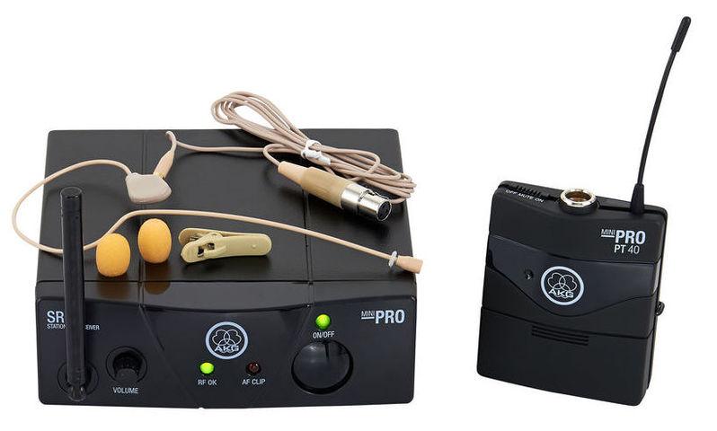 Радиосистема с головным микрофоном AKG WMS 40 Mini Earmic ISM3 akg c518m