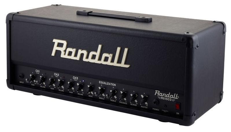 Усилитель головы Randall RG 1503 Head гитарный усилитель randall nbking100 e