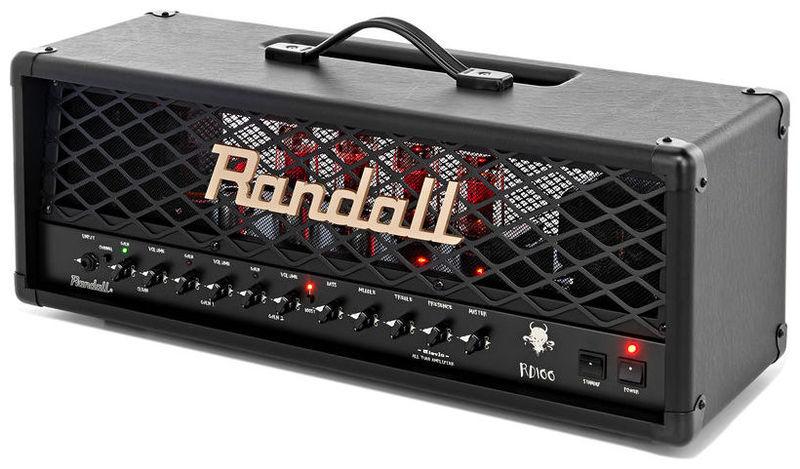 Усилитель головы Randall Diavlo RD 100 Head randall rb300e