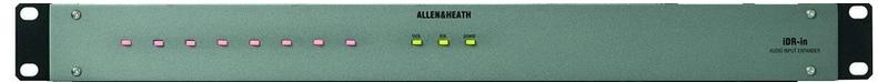 Контроллер акустических систем Allen & Heath iDR-in контроллер акустических систем dbx driverack pa 2