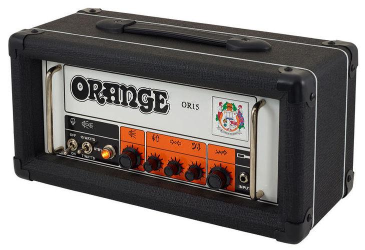 Усилитель головы Orange OR 15 H BK усилитель головы orange micro terror