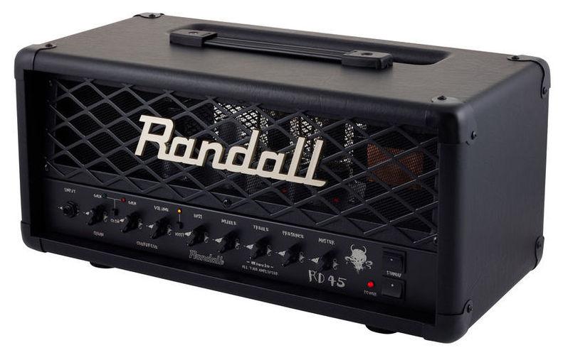 Усилитель головы Randall RD 45 Head гитарный усилитель randall nbking100 e