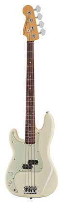 Fender AM Pro P Bass LH RW OWT fender precision bass deluxe 5
