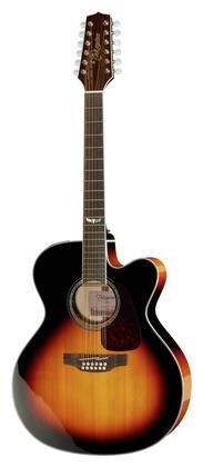 12-струнная гитара Takamine GJ72CE-12BSB