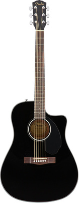 Дредноут Fender CD-60SCE Blk дредноут fender cd 60s all mah
