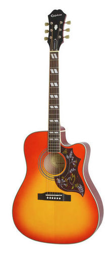Дредноут Epiphone Hummingbird Performer Pro FCB epiphone pro 1 plus acoustic natural