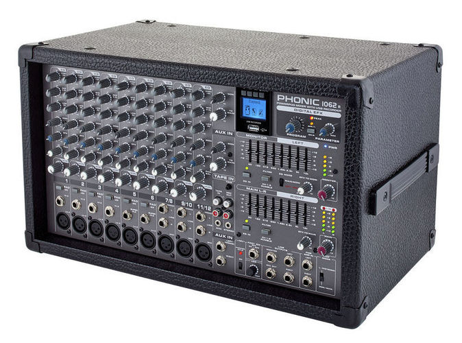 все цены на Микшер с усилением Phonic Powerpod 1062R онлайн