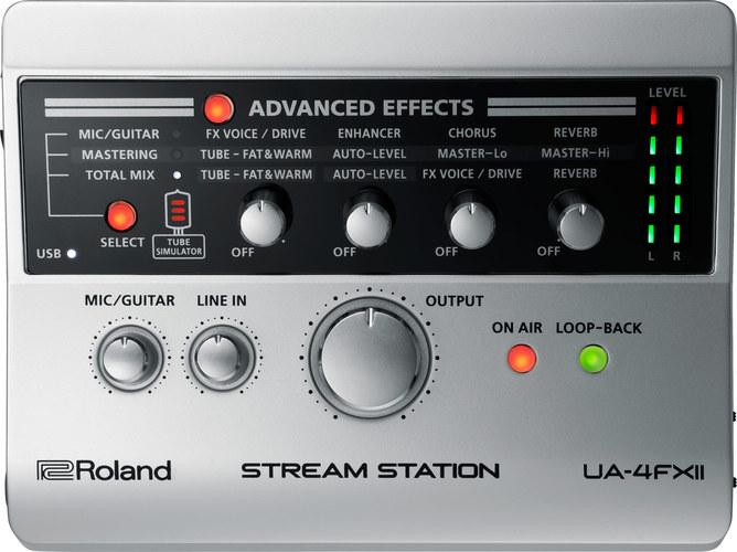 Звуковая карта внешняя Roland UA-4FX2