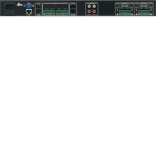 Процессор эффектов Dbx ZONEPRO 640m аксессуар dbx gorack 2x2 pa спикер процессор