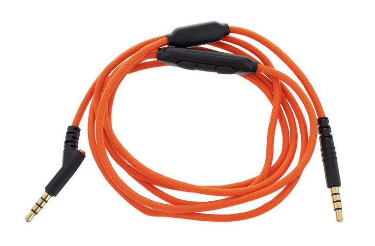V-Moda 3-Button SpeakEasyCable Orange цена и фото