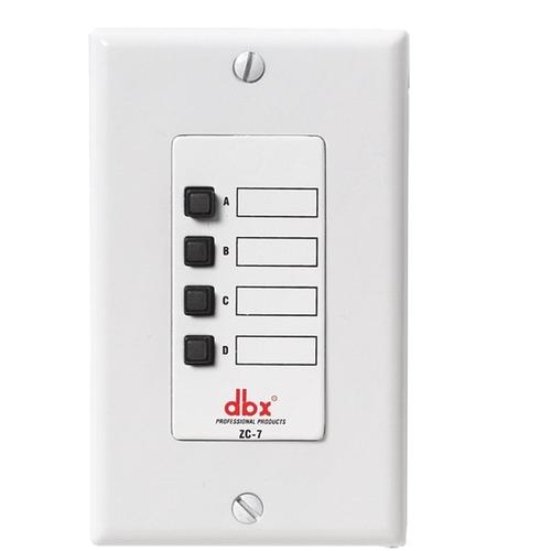 Контроллер акустических систем Dbx ZC7 контроллер и регулятор для систем охлаждения