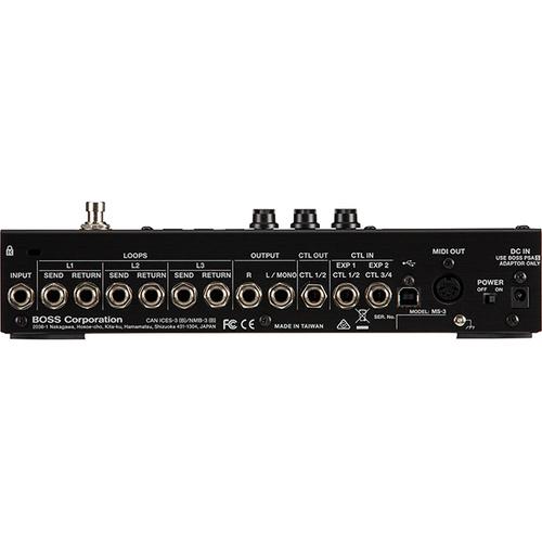 Контроллер, фут-свитч Boss MS-3