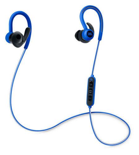 JBL Reflect Contour Blue jbl e25 внутриканальная bluetooth гарнитура blue